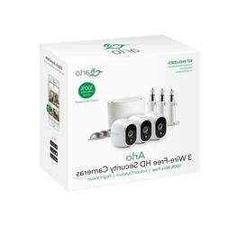 Arlo Wire-Free Security System with 3 HD Camera  with Base -