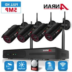 ANRAN Wireless 1080P Home Security System H.265+ NVR 1920P I