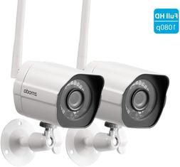 Zmodo Wireless Security Camera System Full HD 1080P Indoor O