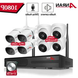 ANRAN 1080P Home Security Camera System In/outdoor 8CH 1TB 2
